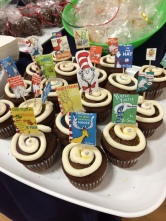 Seuss-y cupcakes